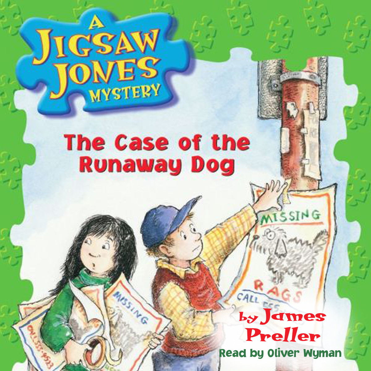 Printable The Case of the Runaway Dog Audiobook Cover Art
