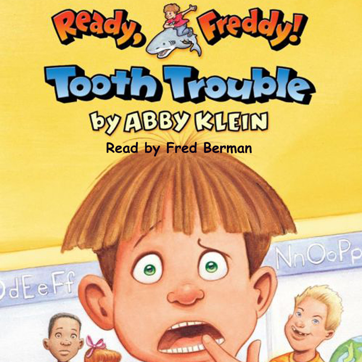 Printable Tooth Trouble Audiobook Cover Art