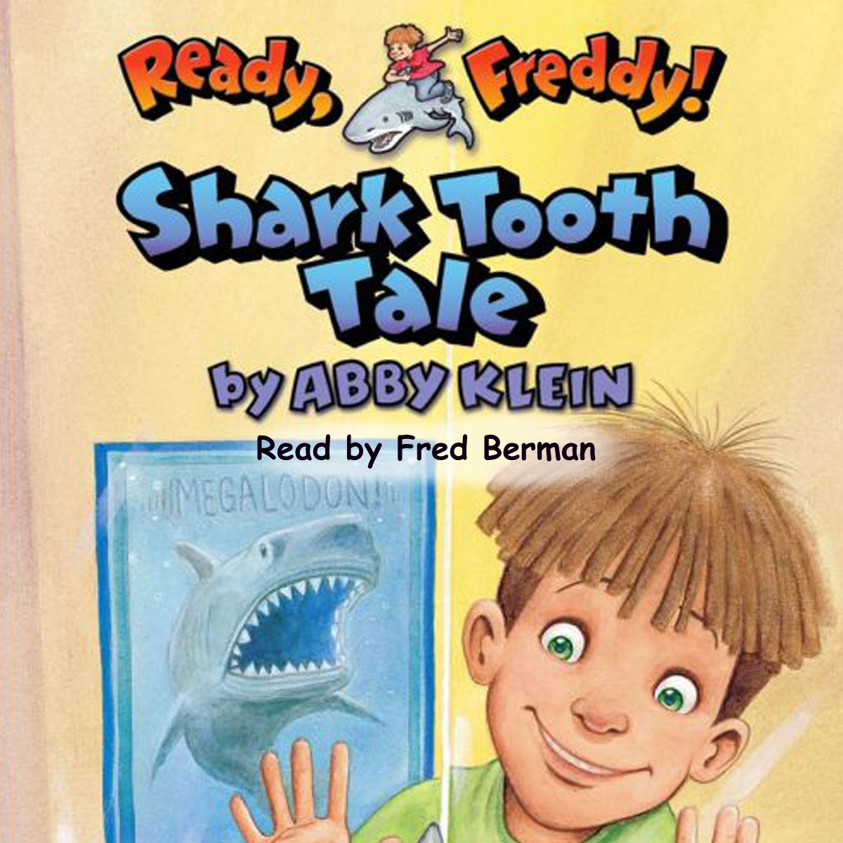 Printable Shark Tooth Tale Audiobook Cover Art