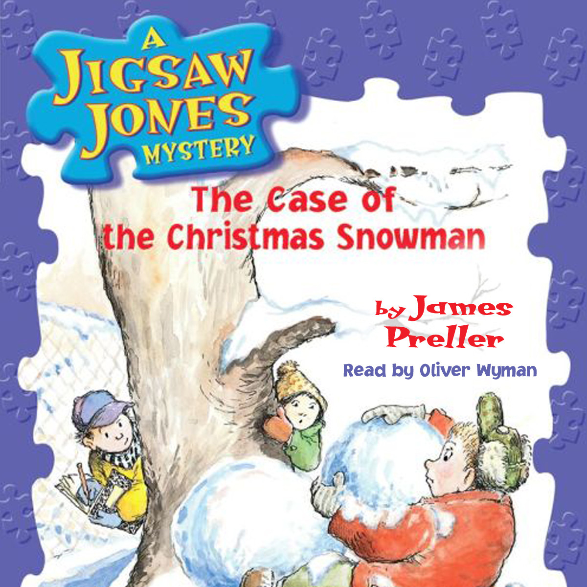 Printable The Case of the Christmas Snowman Audiobook Cover Art