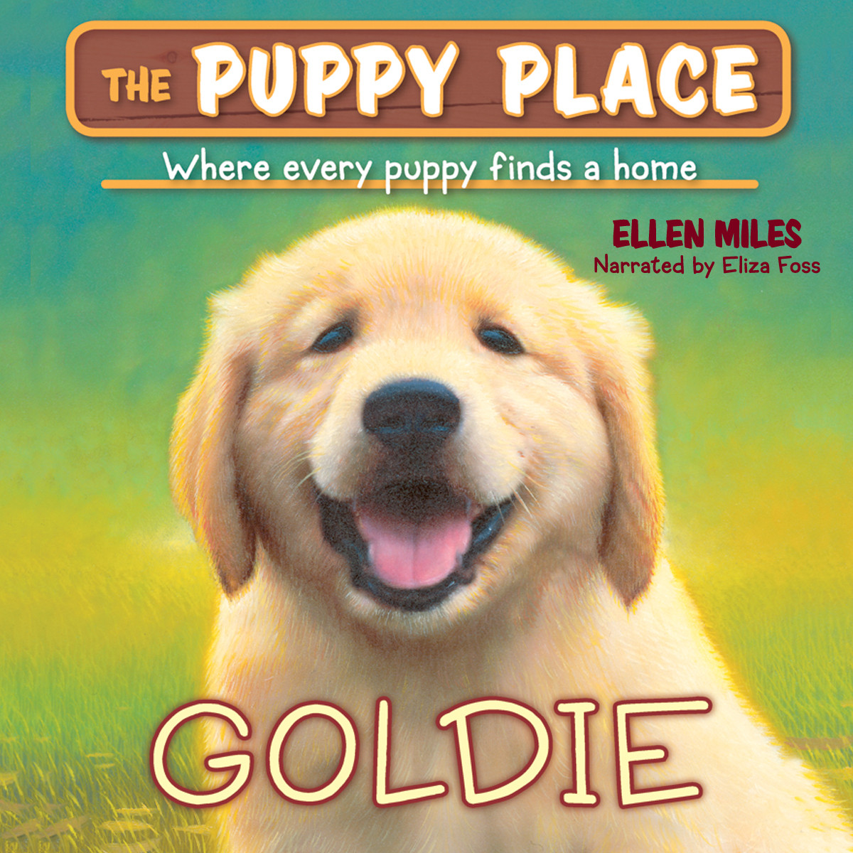 Printable Goldie Audiobook Cover Art