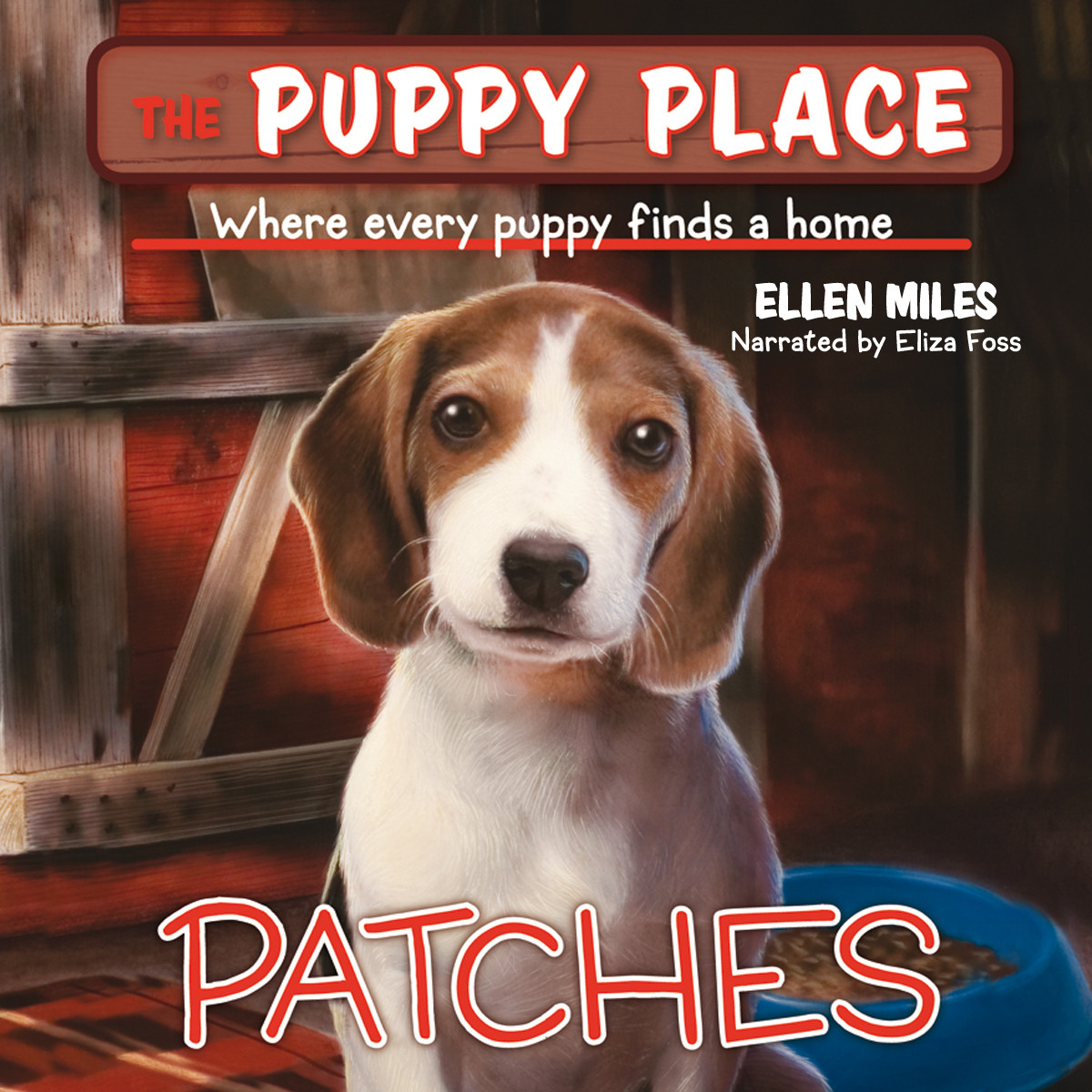Printable Patches: Puppy Place #8 Audiobook Cover Art