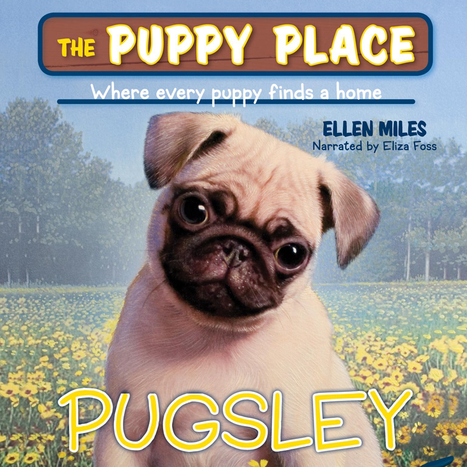 Printable Pugsley Audiobook Cover Art
