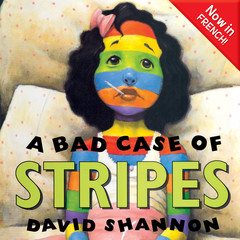 A Bad Case of Stripes (French) Audiobook, by David Shannon