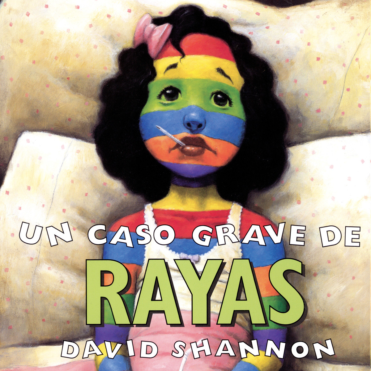 Printable A Bad Case of Stripes (Spanish) Audiobook Cover Art