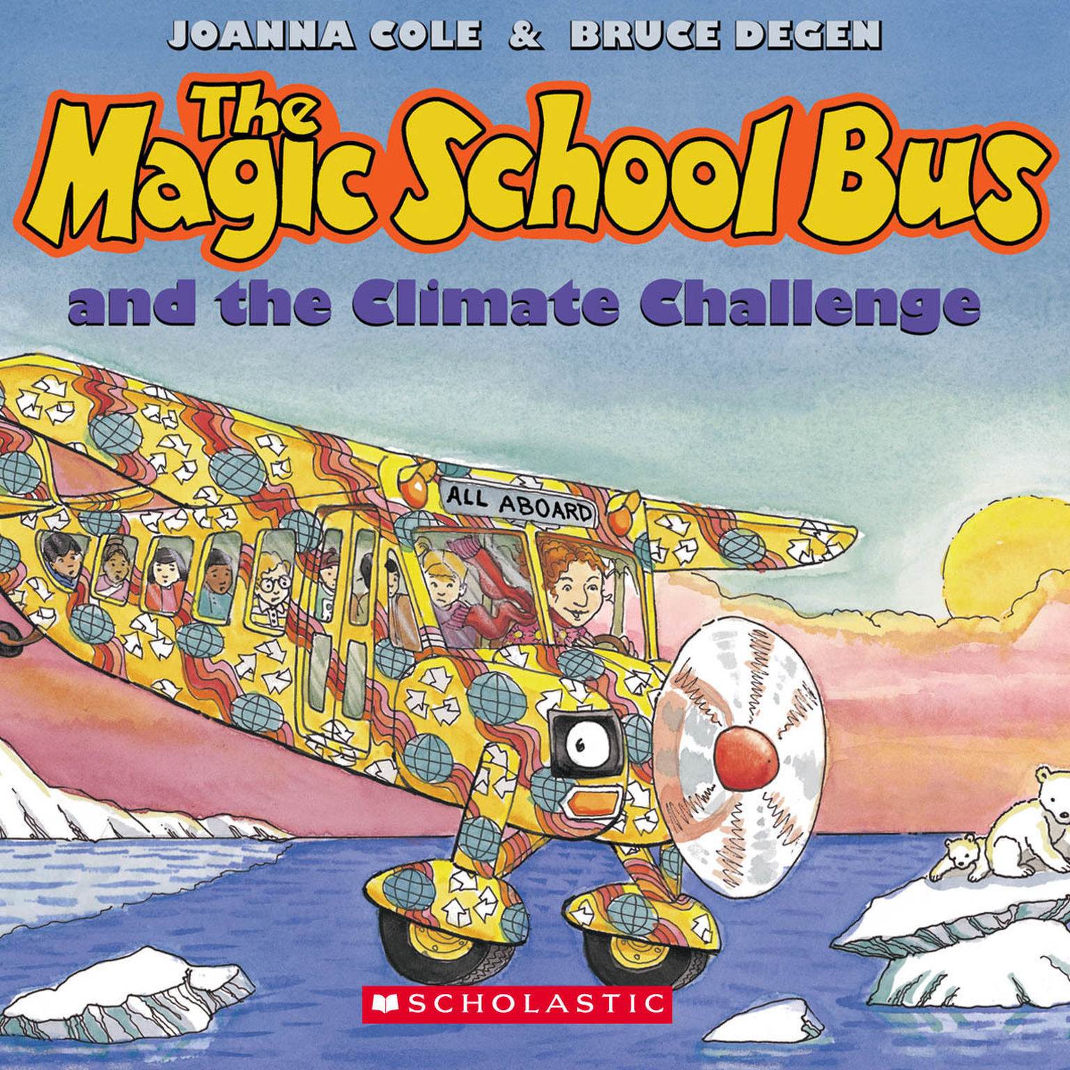 Printable The Magic School Bus and the Climate Challenge Audiobook Cover Art