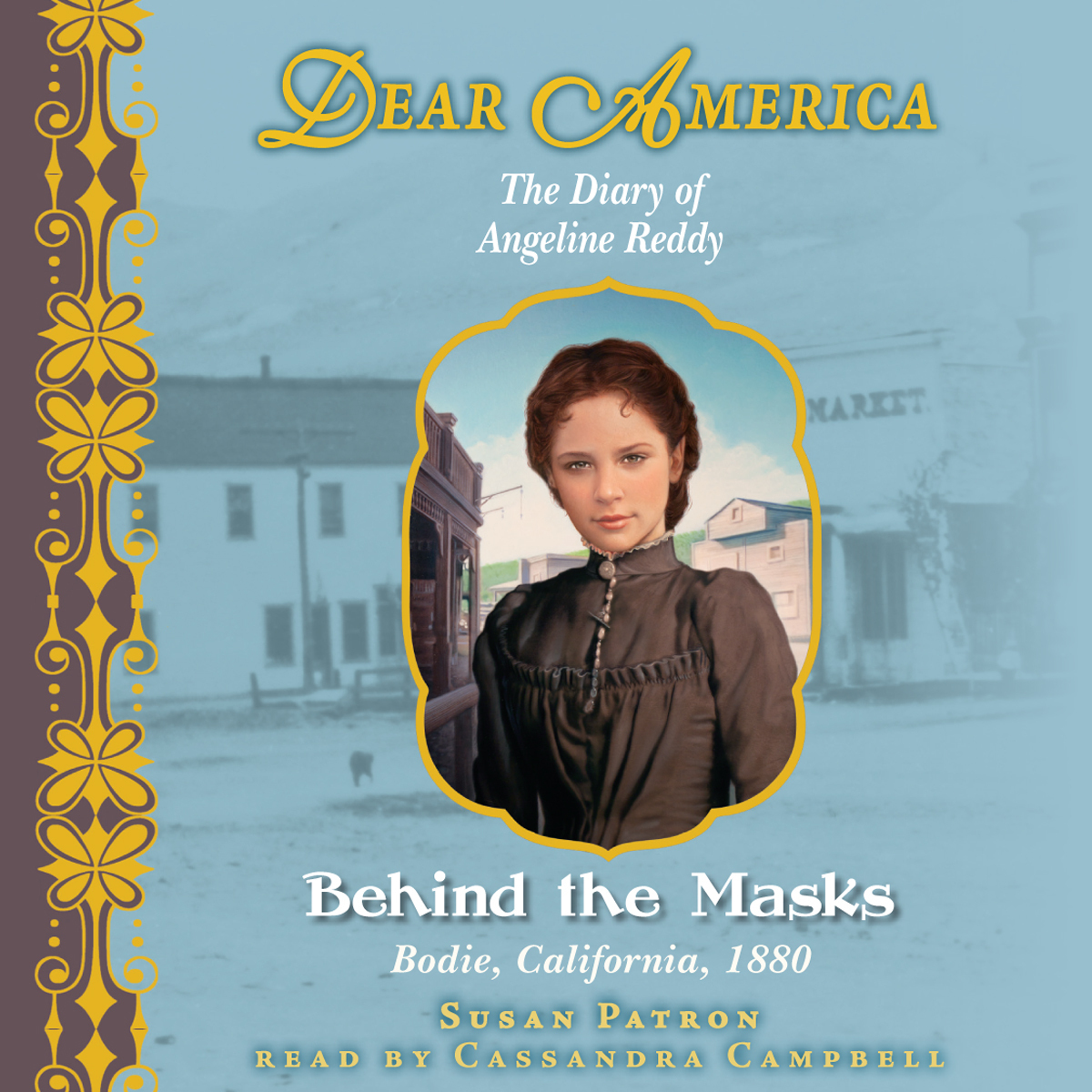Printable Behind the Masks: The Diary of Angeline Reddy Audiobook Cover Art