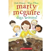 Marty McGuire Digs Worms! Audiobook, by Kate Messner
