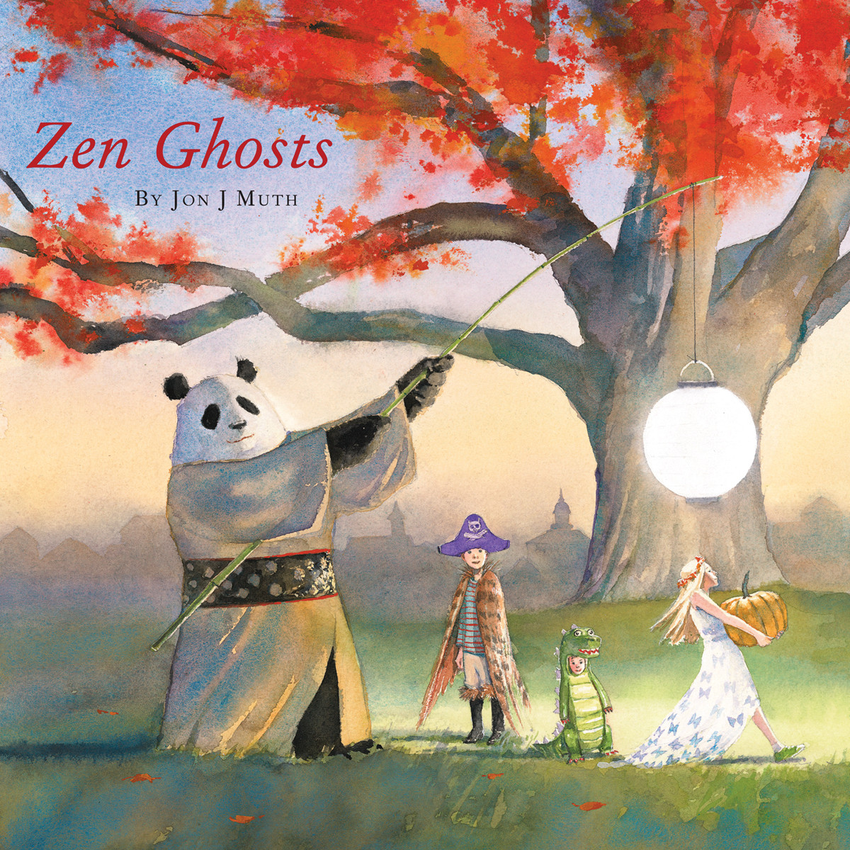 Printable Zen Ghosts Audiobook Cover Art