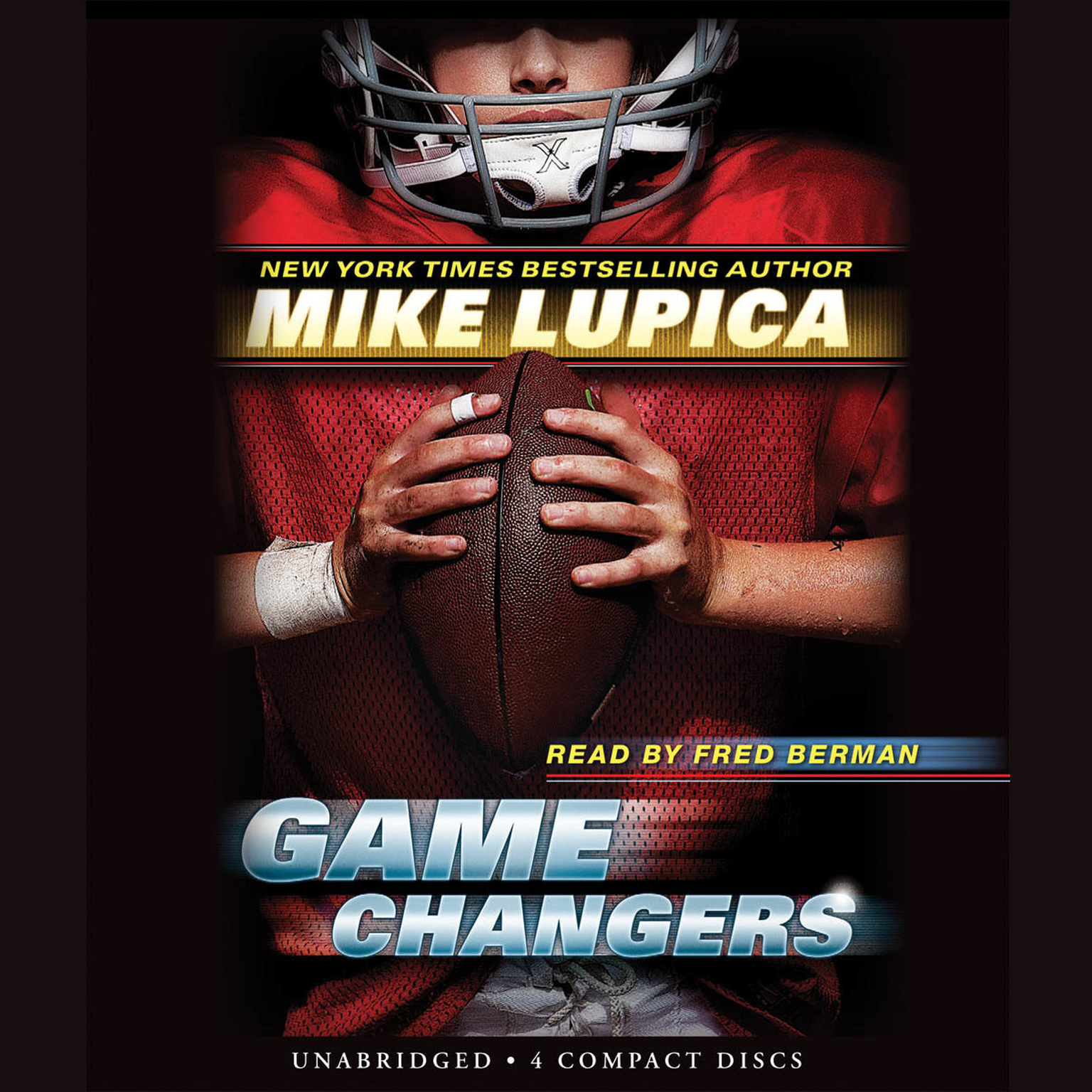 Printable Game Changers Audiobook Cover Art