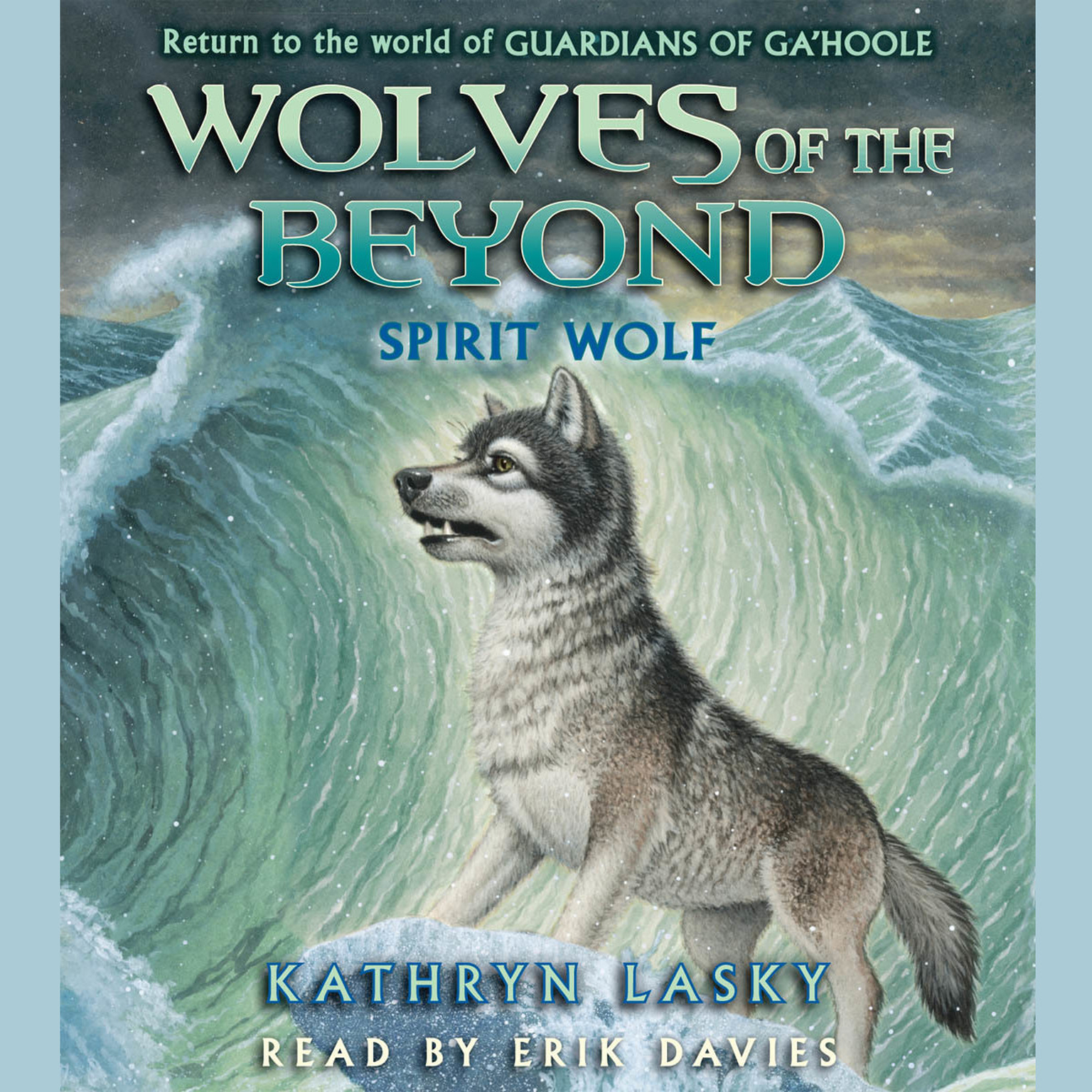 Printable Spirit Wolf Audiobook Cover Art