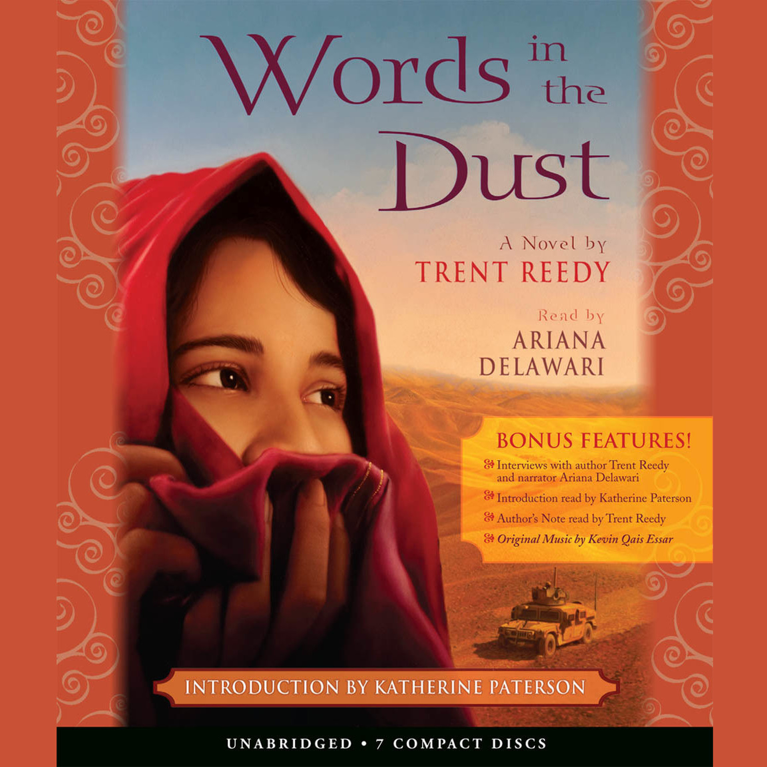 Printable Words in the Dust Audiobook Cover Art