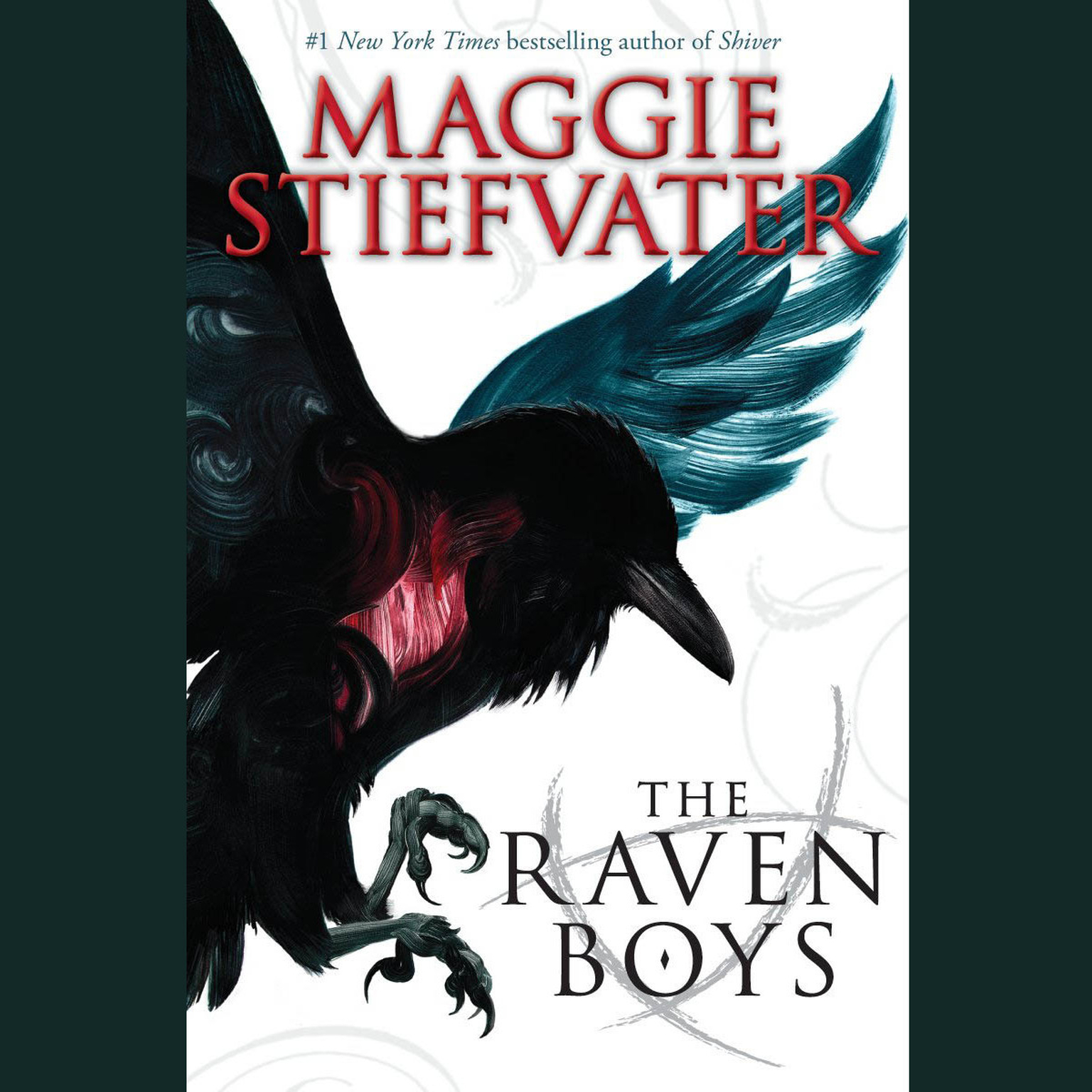 Printable The Raven Boys Audiobook Cover Art
