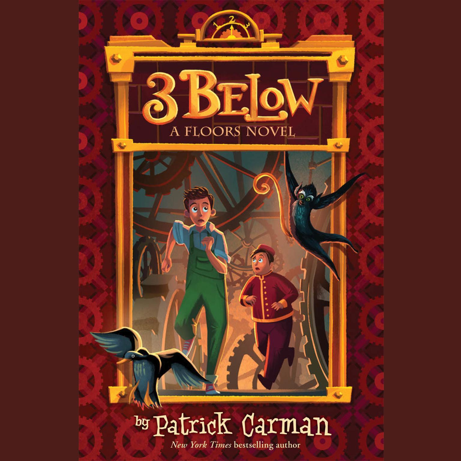 Printable 3 Below Audiobook Cover Art