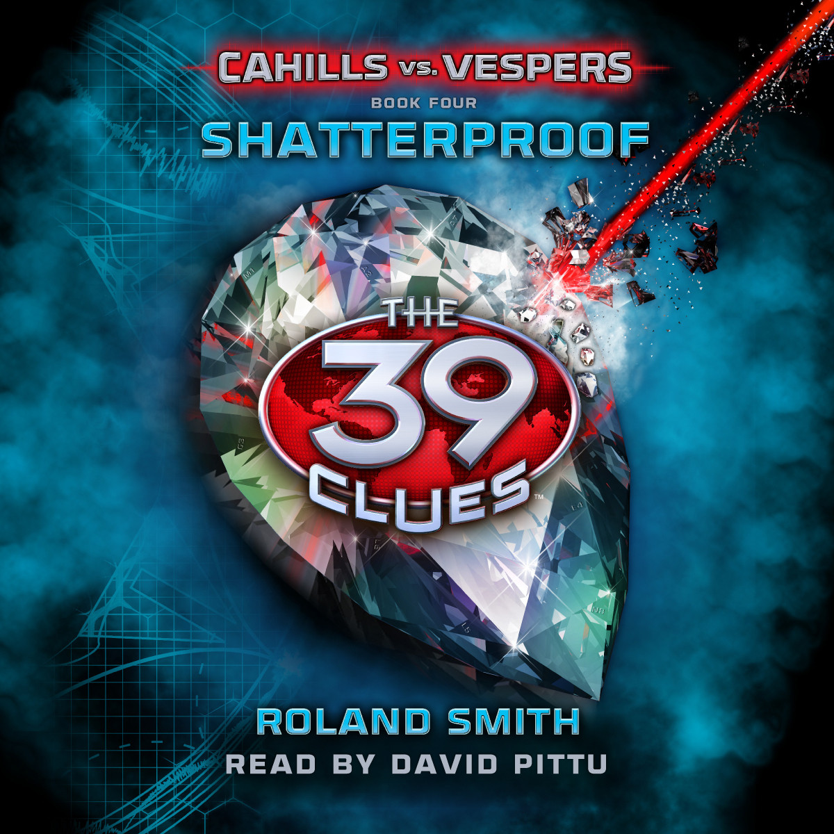 Printable Shatterproof Audiobook Cover Art