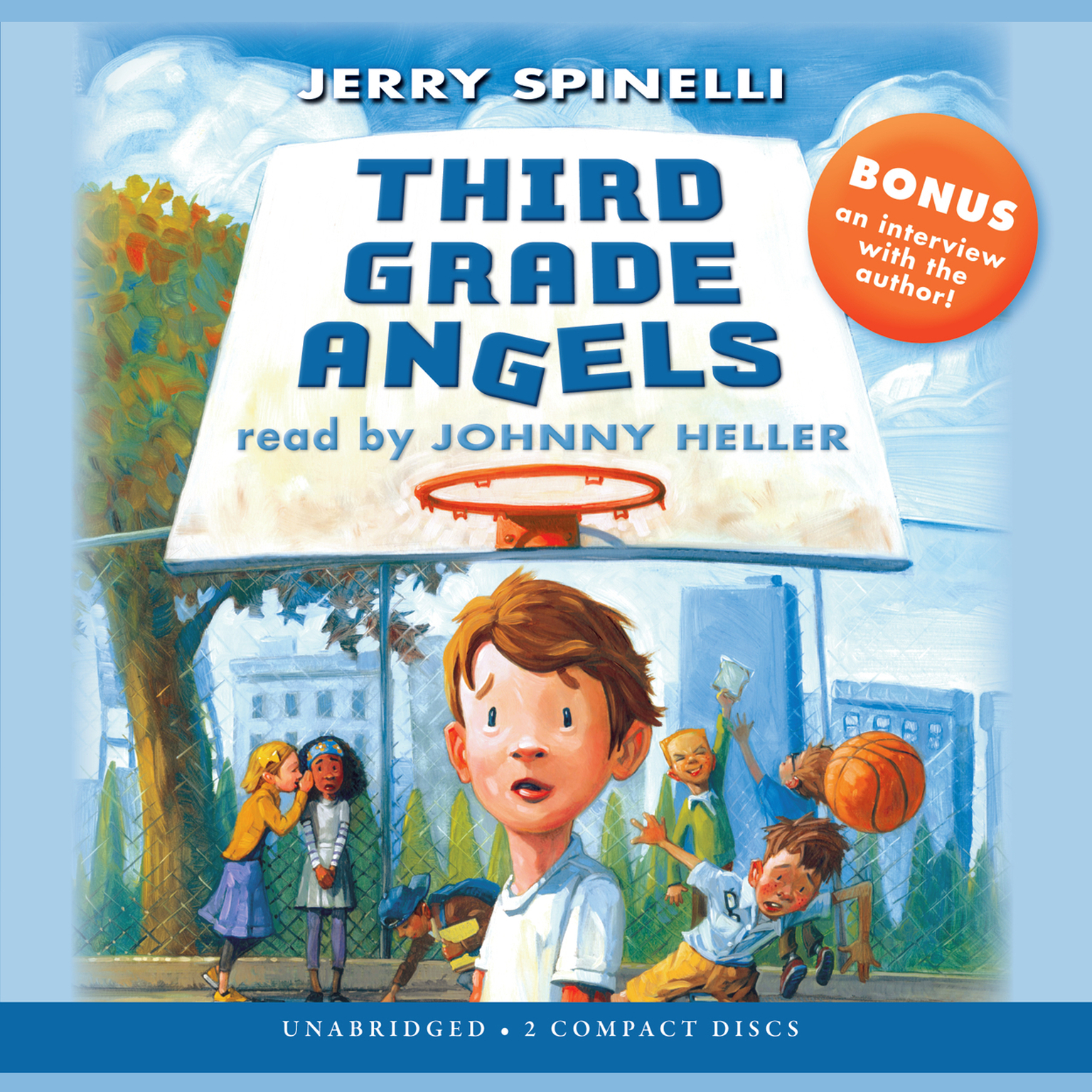 Printable Third Grade Angels Audiobook Cover Art