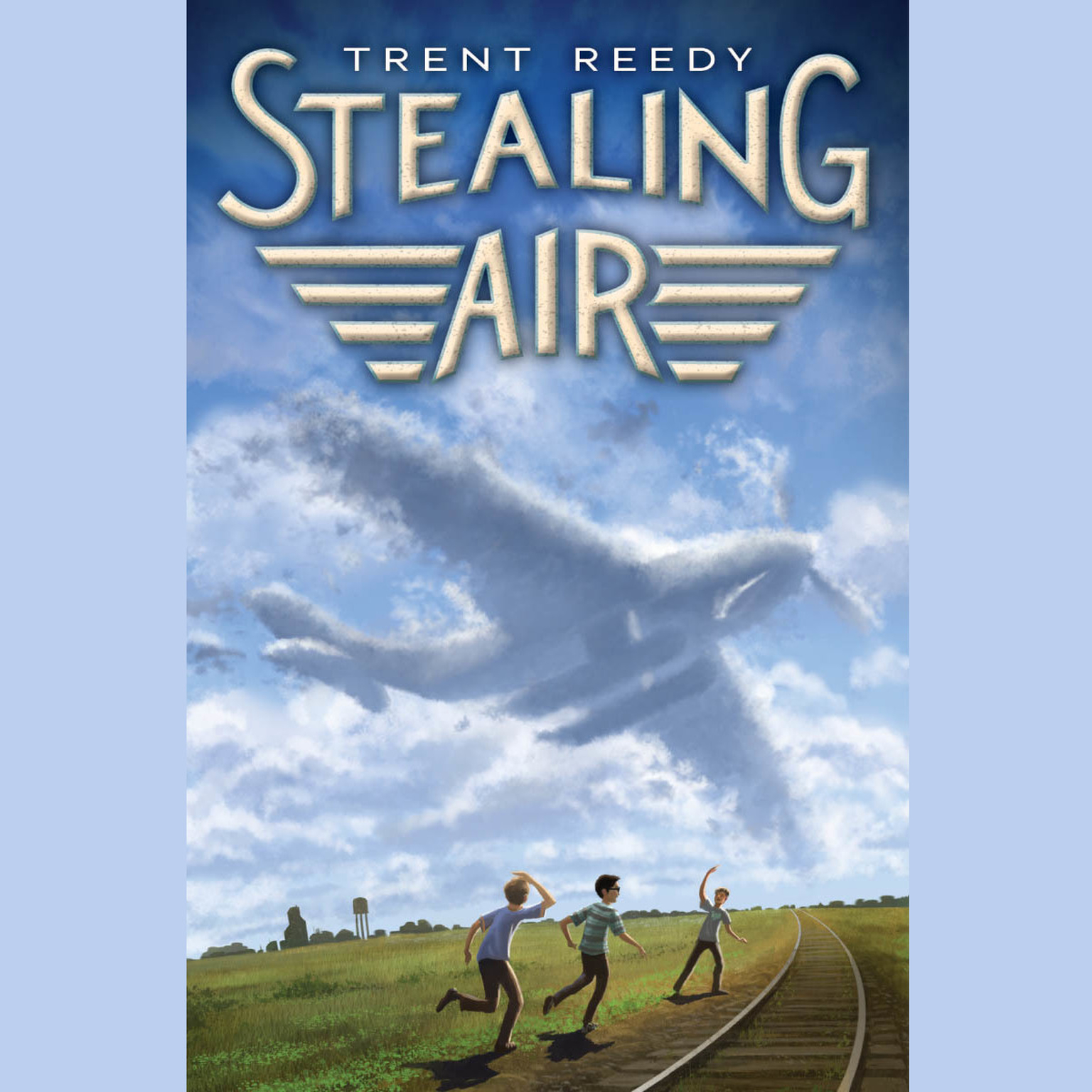 Printable Stealing Air Audiobook Cover Art