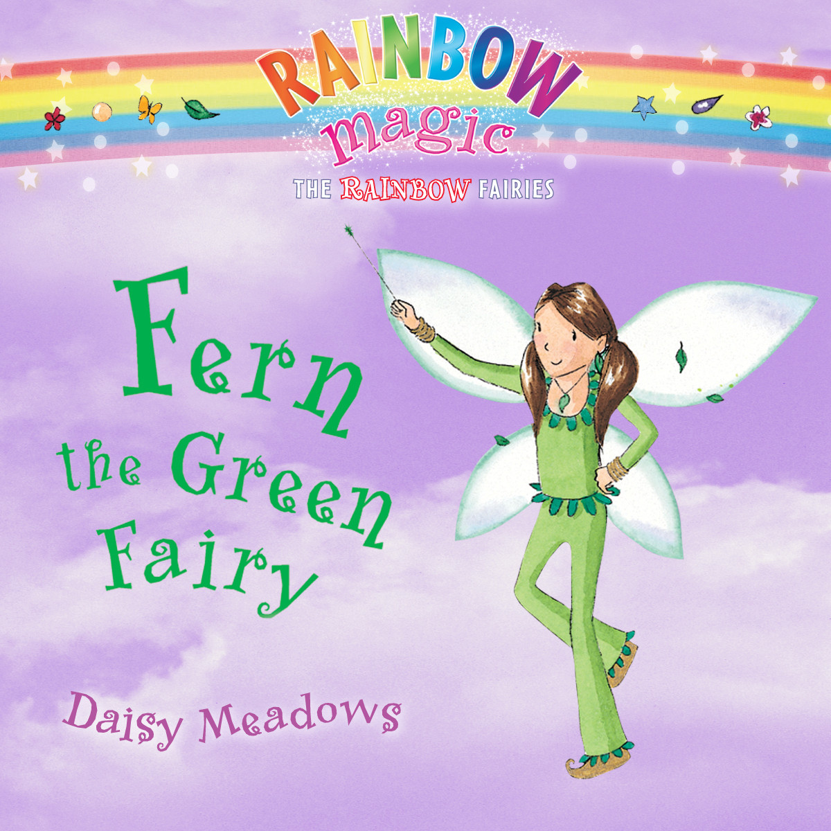 Printable Fern the Green Fairy Audiobook Cover Art