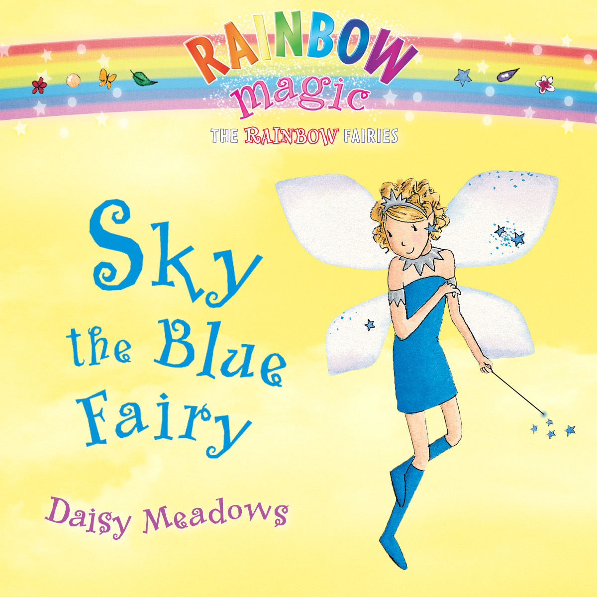Printable Sky the Blue Fairy Audiobook Cover Art