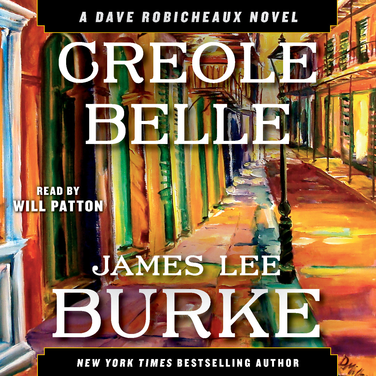 Printable Creole Belle: A Dave Robicheaux Novel Audiobook Cover Art