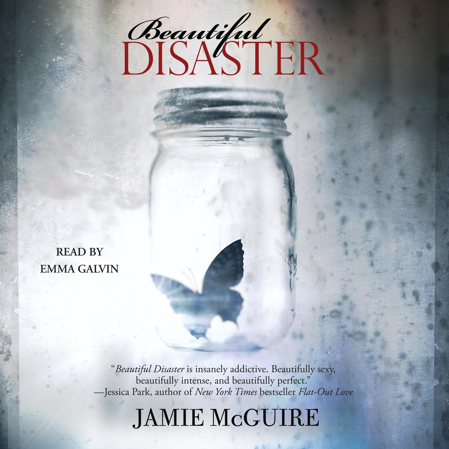 Printable Beautiful Disaster Audiobook Cover Art