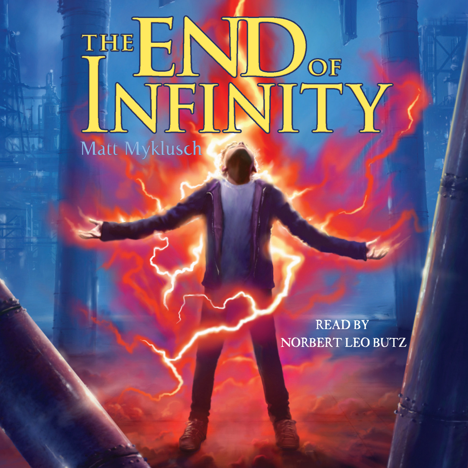Printable The End of Infinity Audiobook Cover Art