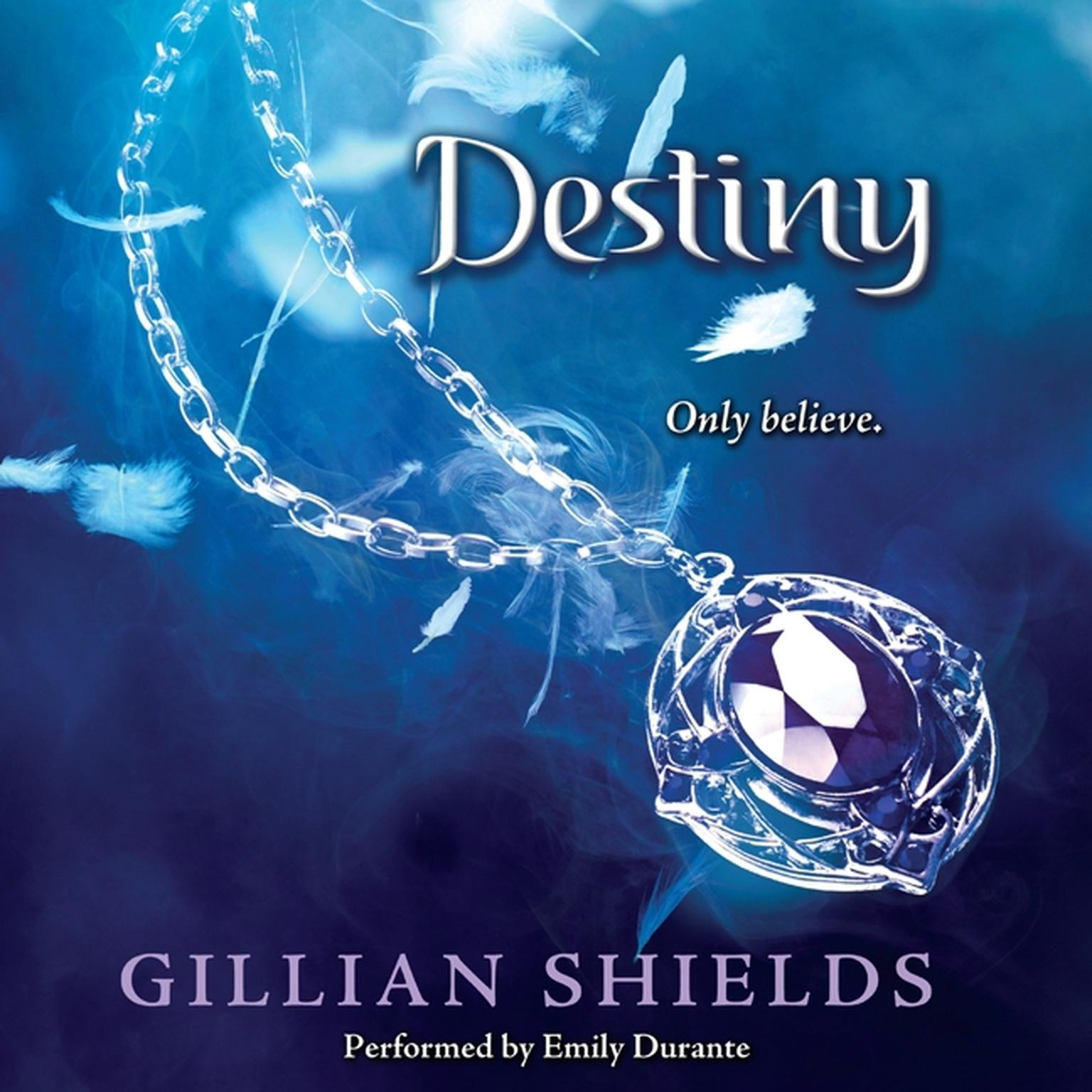 Printable Destiny Audiobook Cover Art