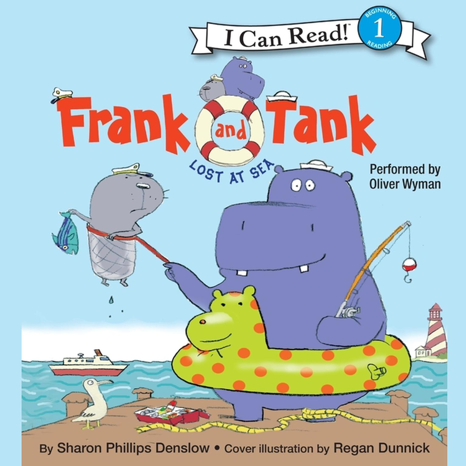 Printable Frank and Tank: Lost at Sea Audiobook Cover Art