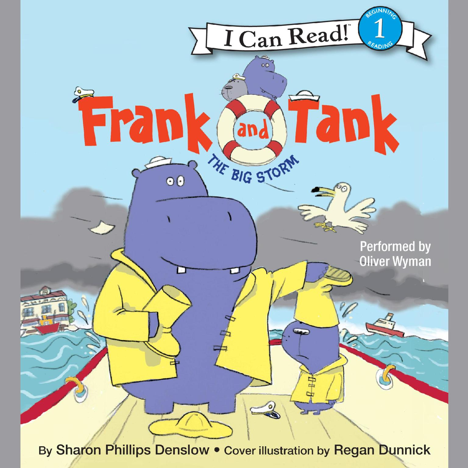 Printable Frank and Tank: The Big Storm Audiobook Cover Art