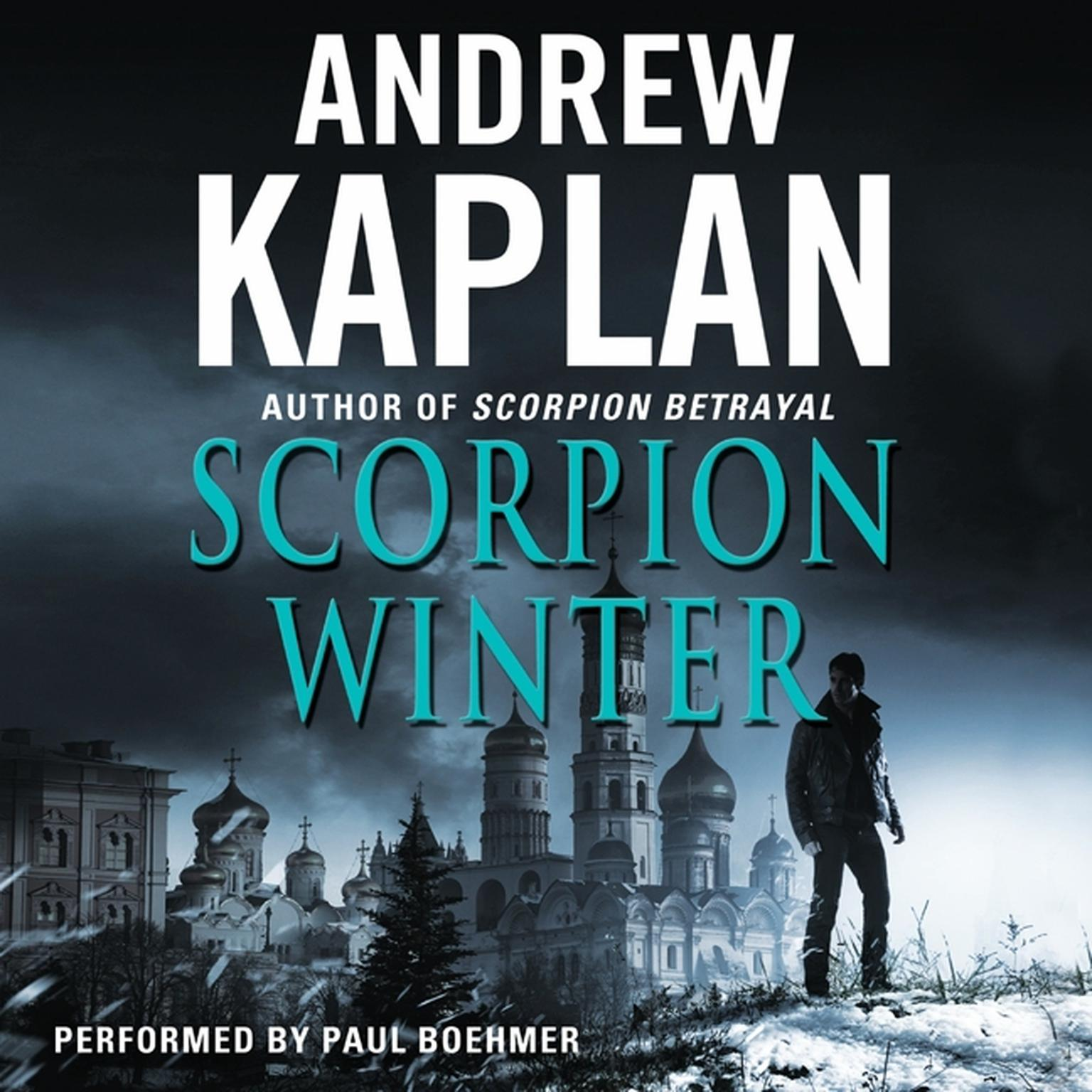 Printable Scorpion Winter Audiobook Cover Art