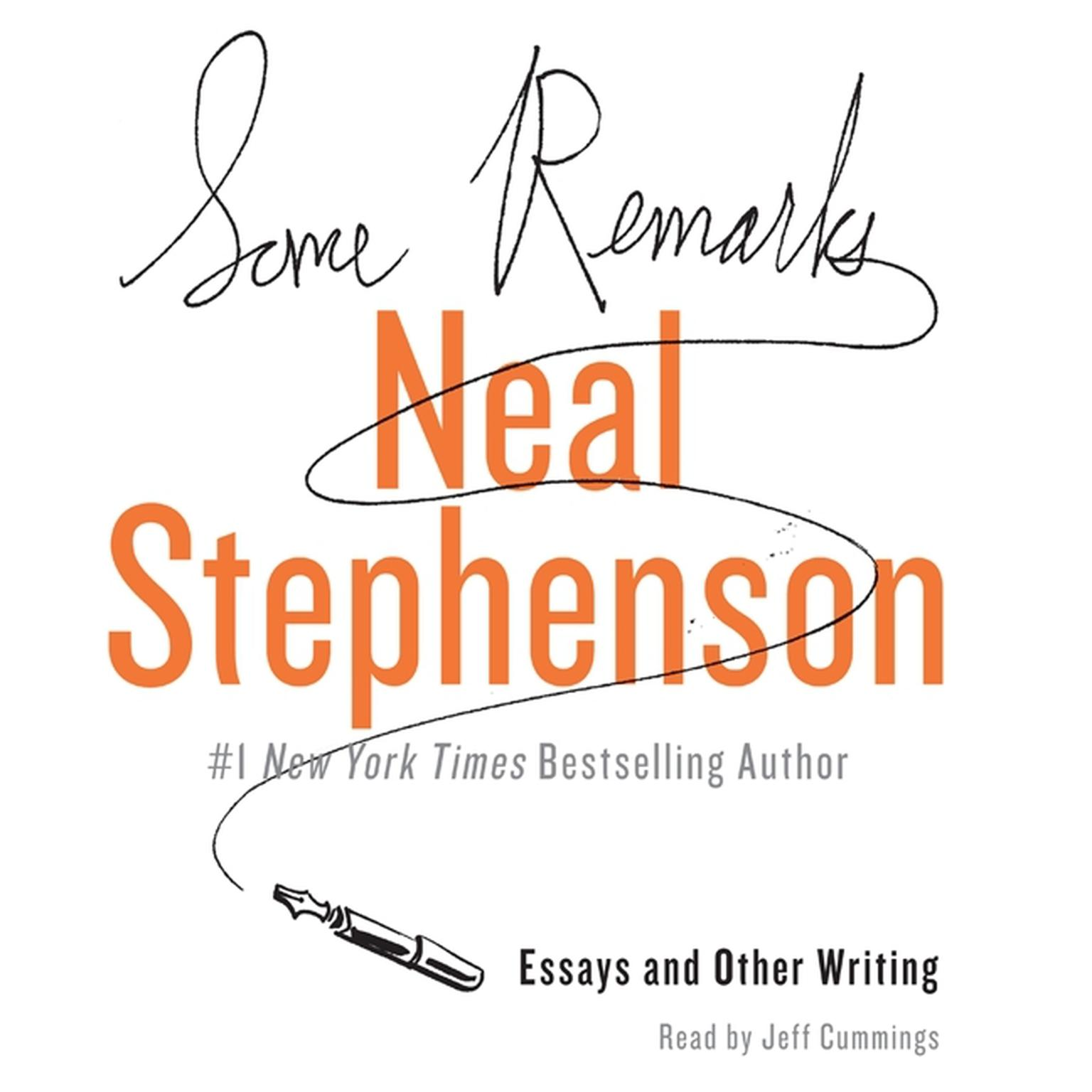 Printable Some Remarks: Essays and Other Writing Audiobook Cover Art