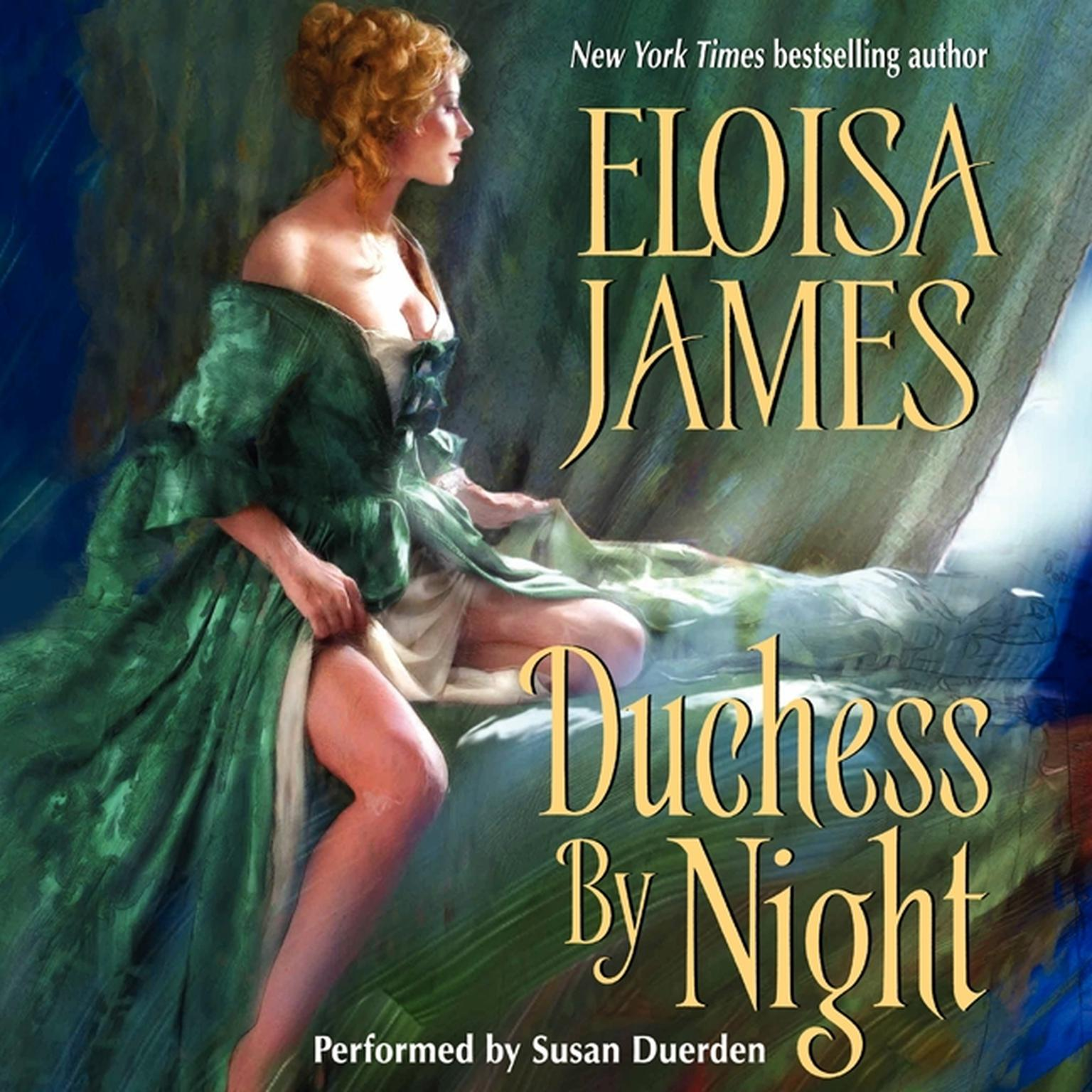 Printable Duchess By Night Audiobook Cover Art