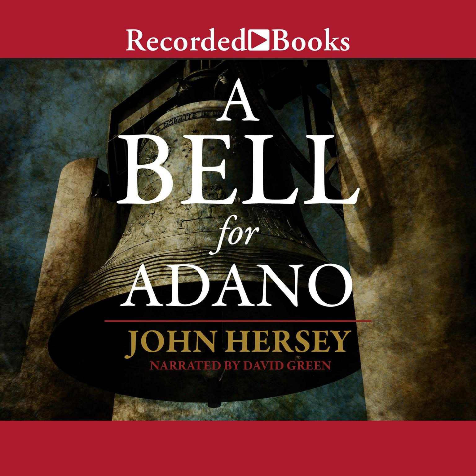 Printable A Bell for Adano Audiobook Cover Art