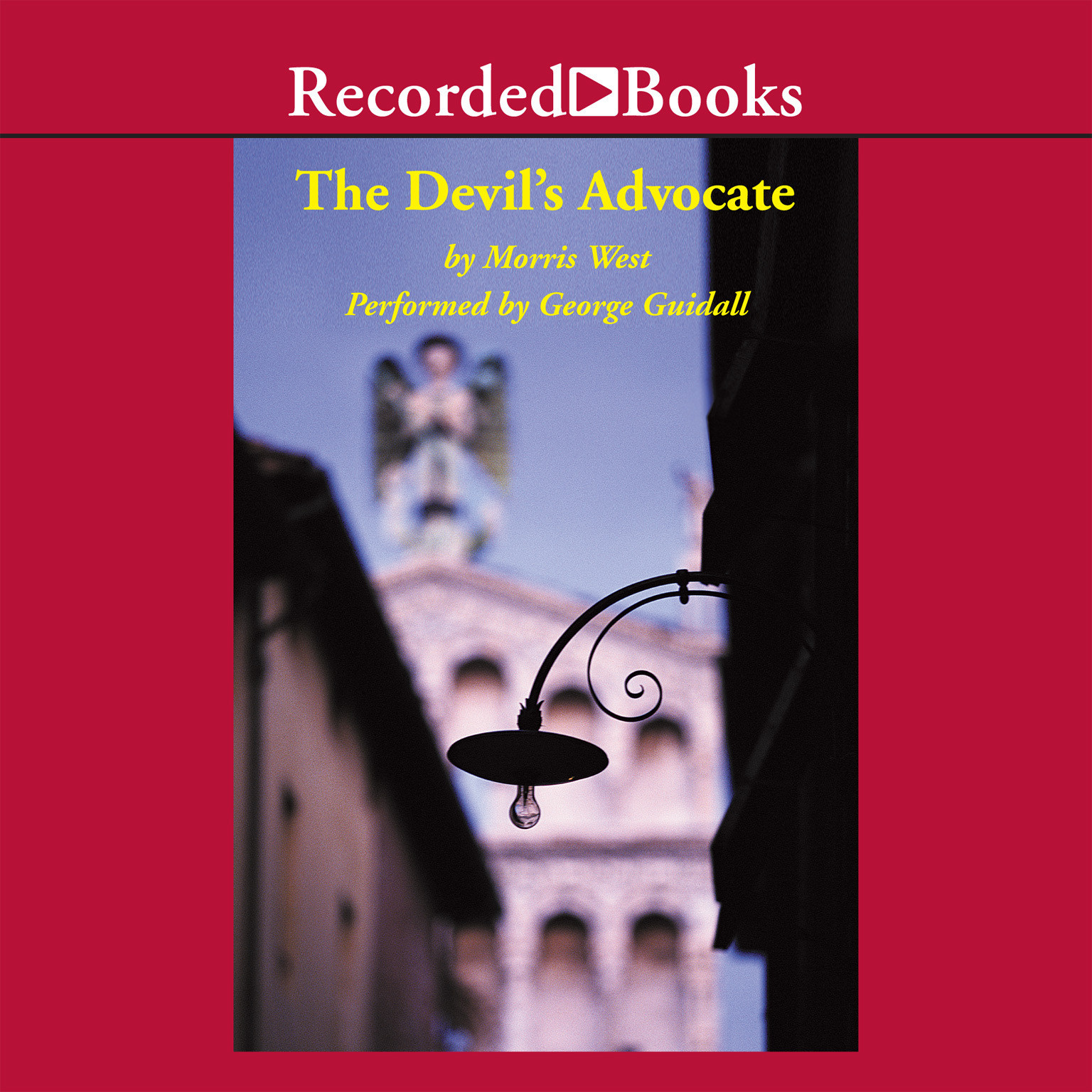 Printable The Devil's Advocate Audiobook Cover Art