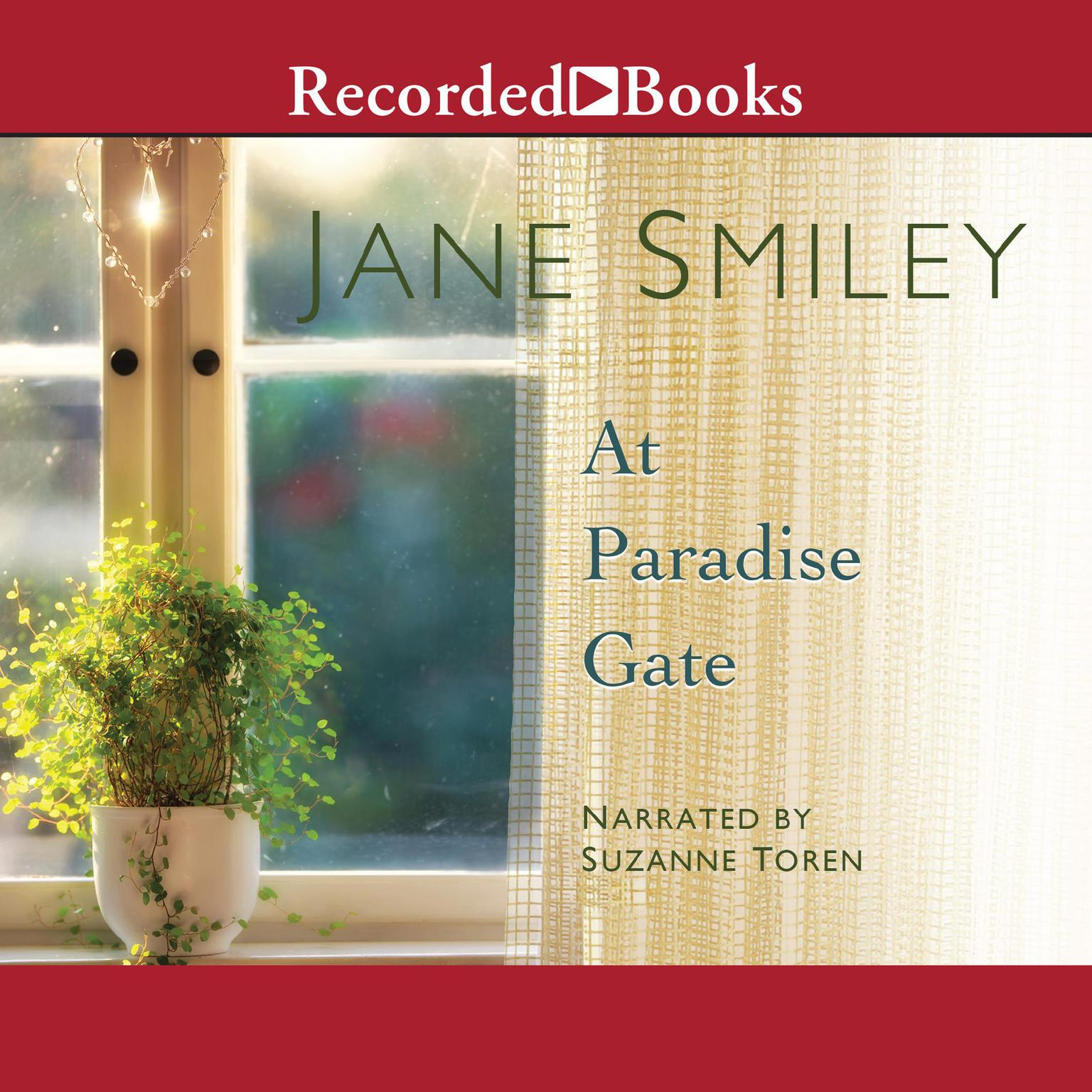 Printable At Paradise Gate Audiobook Cover Art