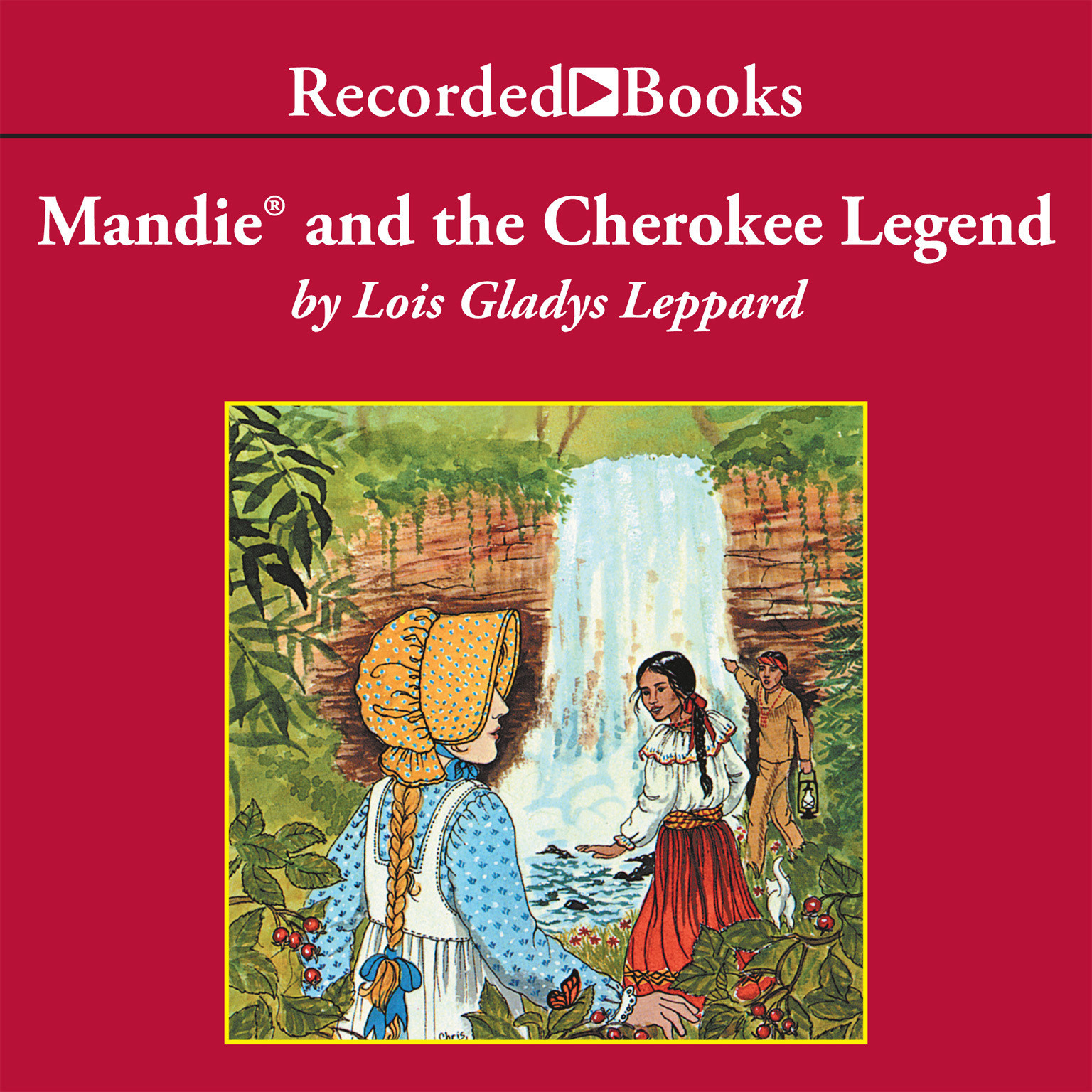 Printable Mandie and the Cherokee Legend Audiobook Cover Art