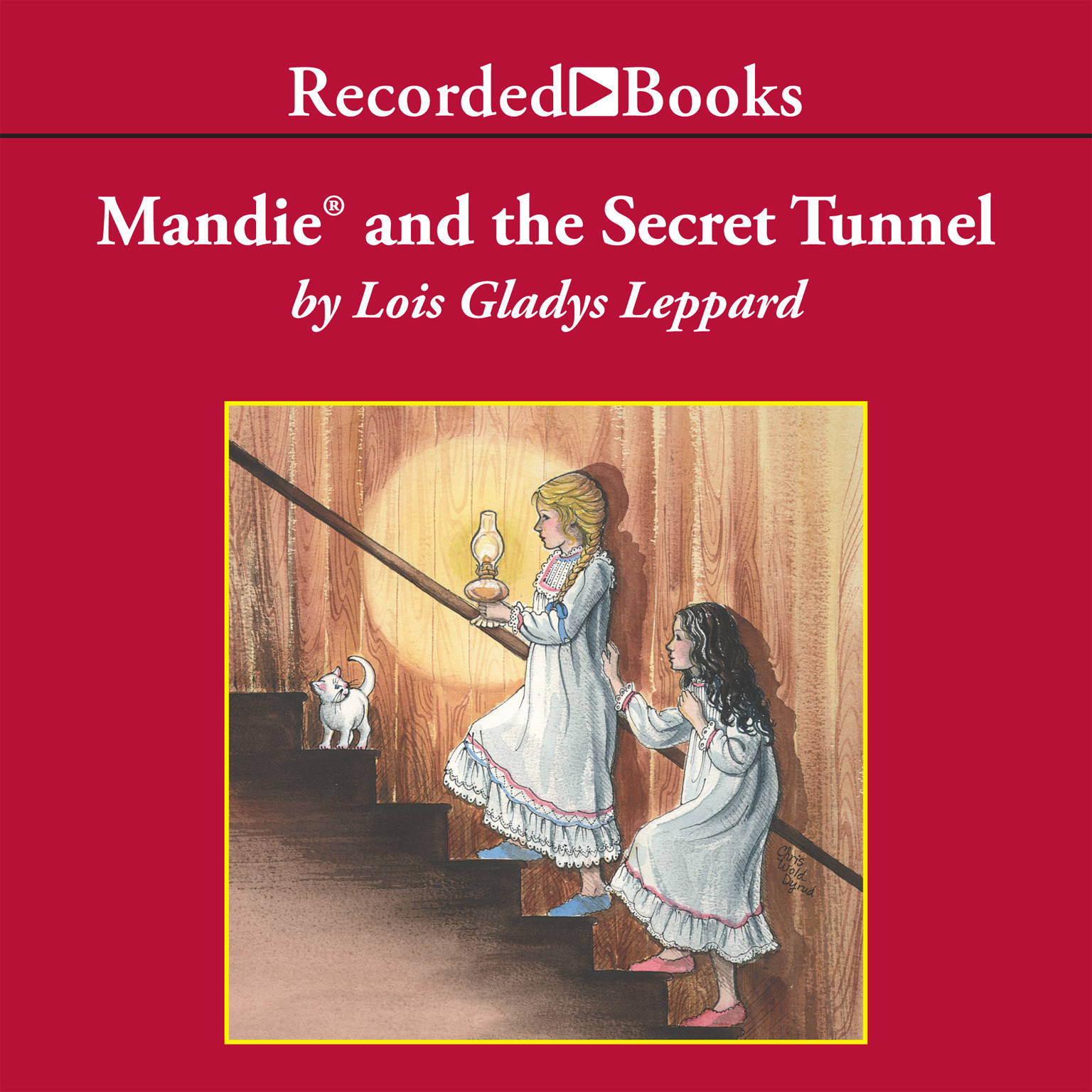 Printable Mandie and the Secret Tunnel Audiobook Cover Art