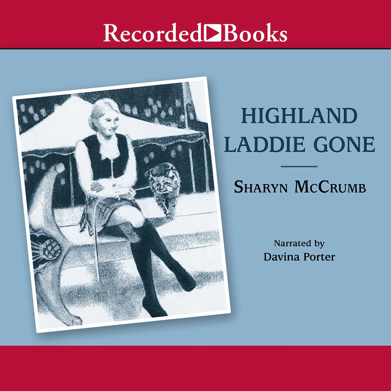 Printable Highland Laddie Gone Audiobook Cover Art
