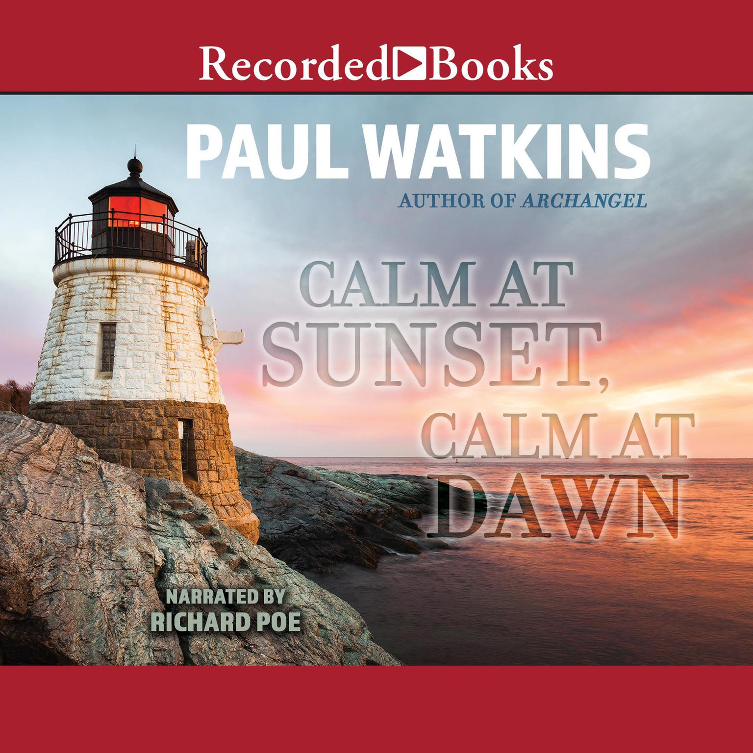 Printable Calm at Sunset, Calm at Dawn Audiobook Cover Art