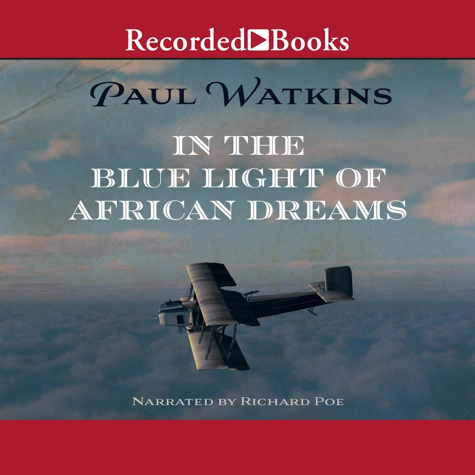 Printable In the Blue Light of African Dreams Audiobook Cover Art