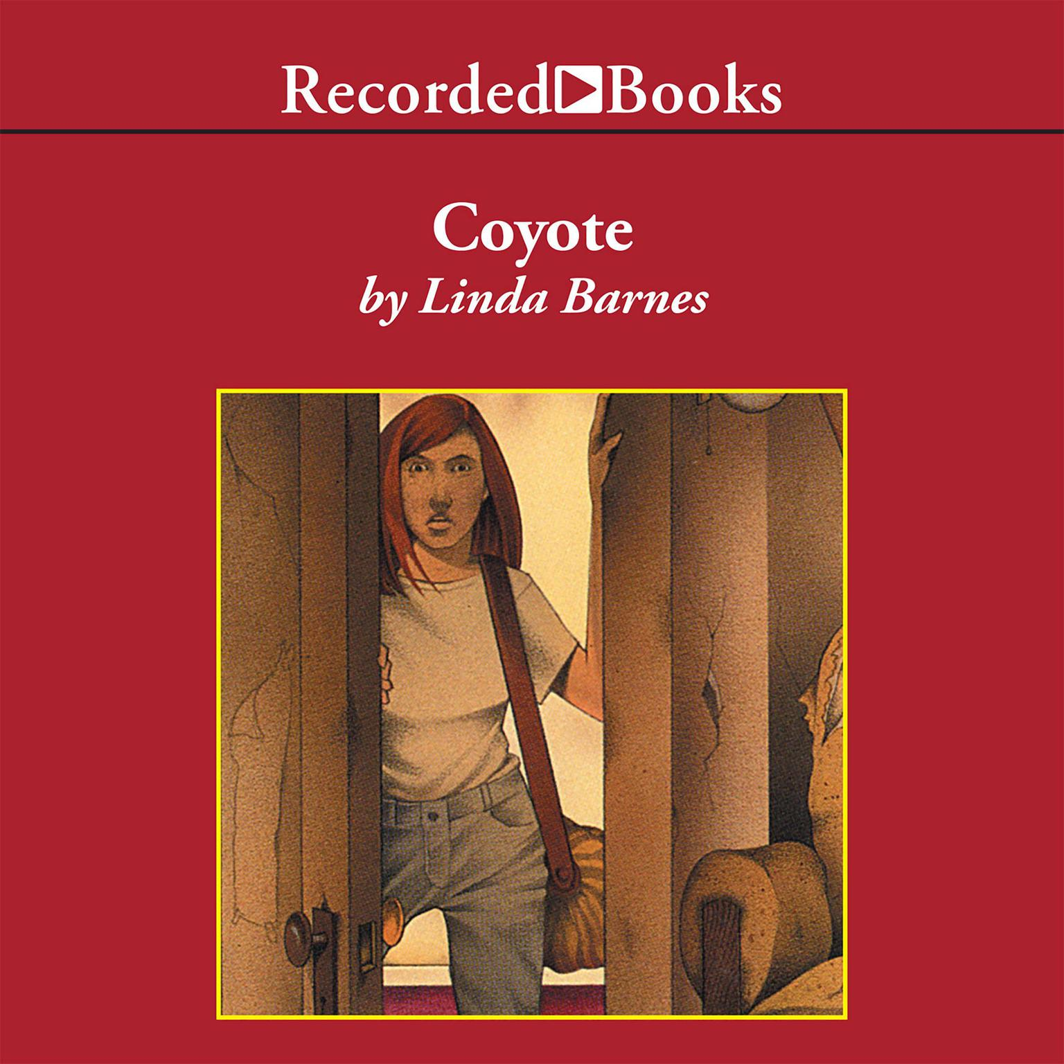 Printable Coyote Audiobook Cover Art