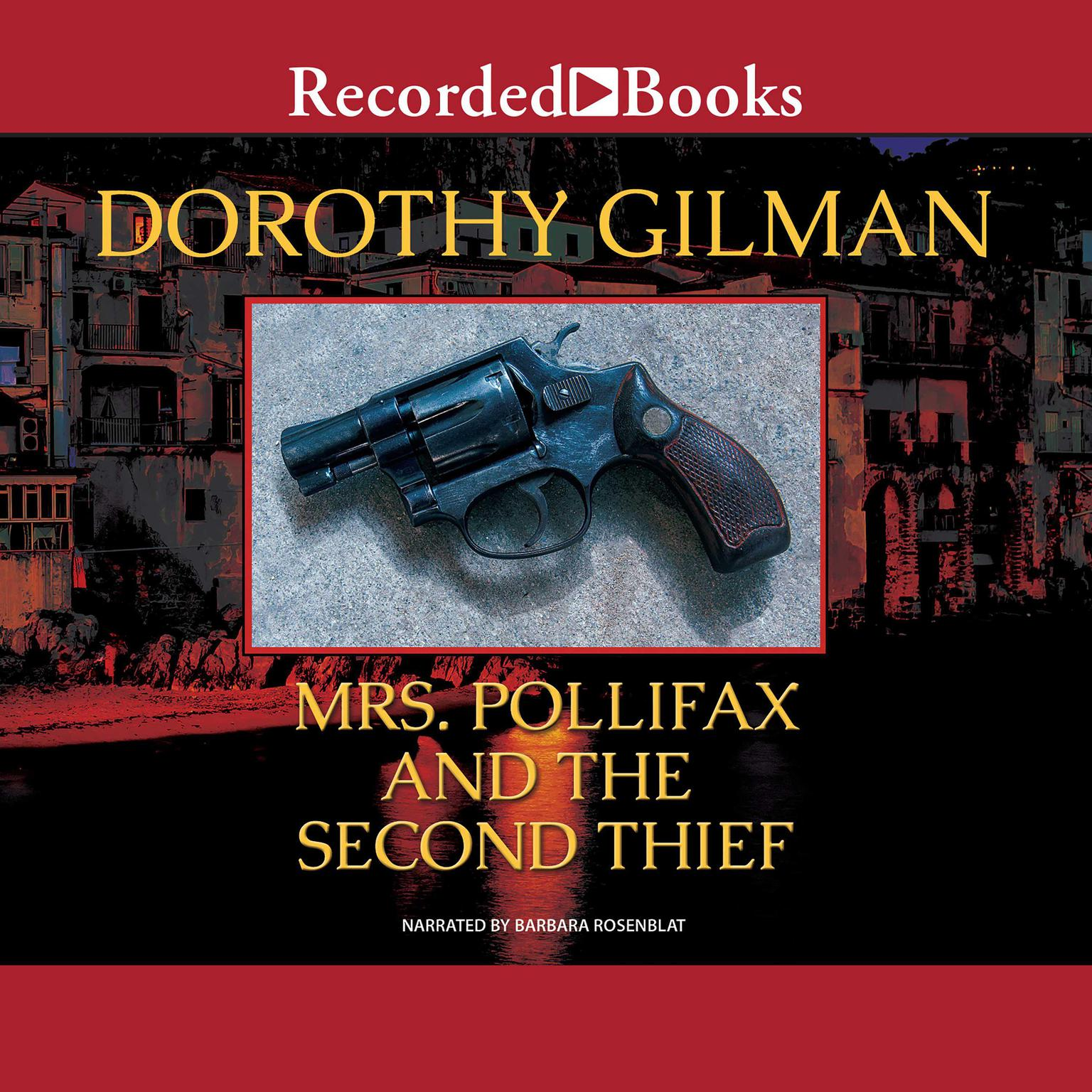 Printable Mrs. Pollifax and the Second Thief Audiobook Cover Art