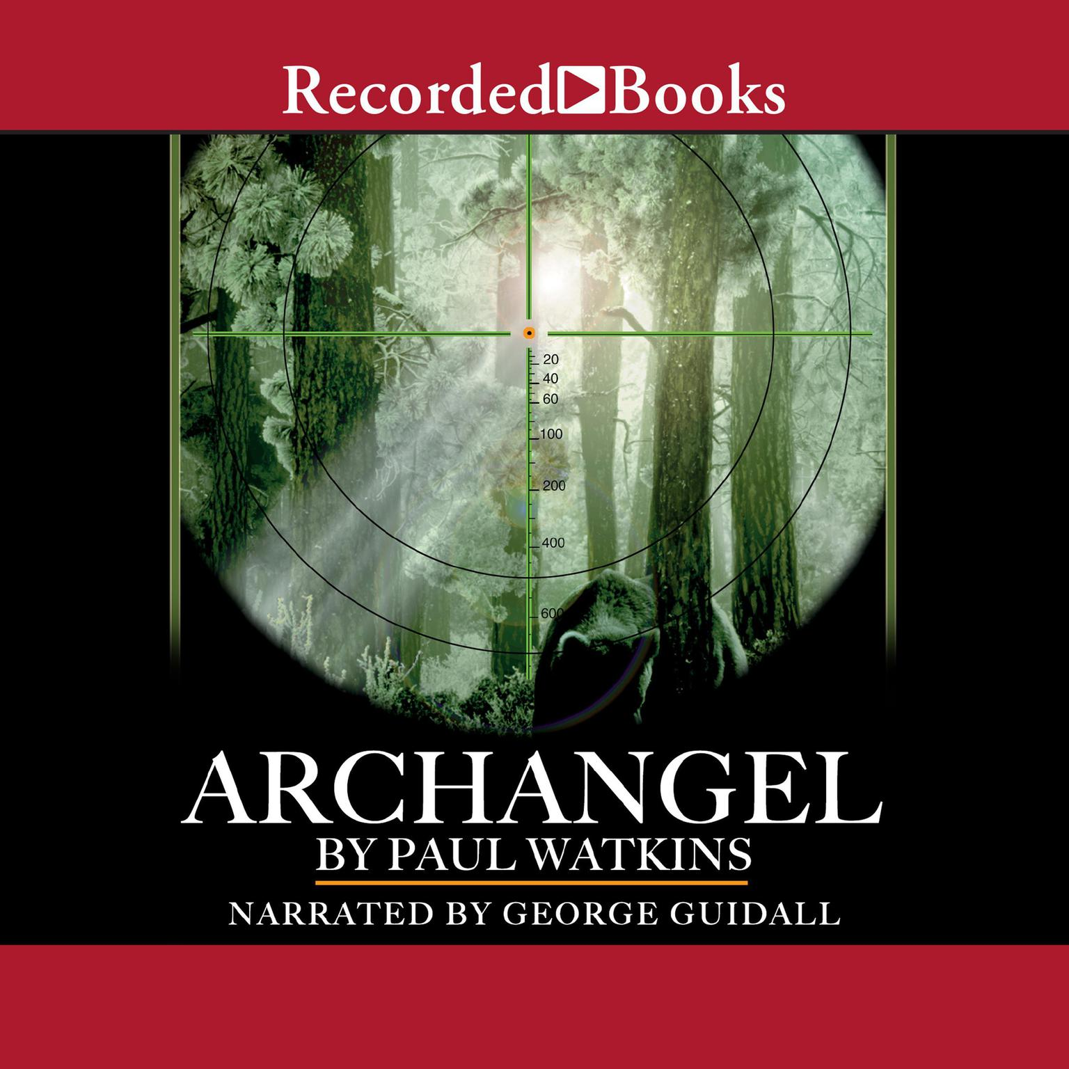Printable Archangel Audiobook Cover Art
