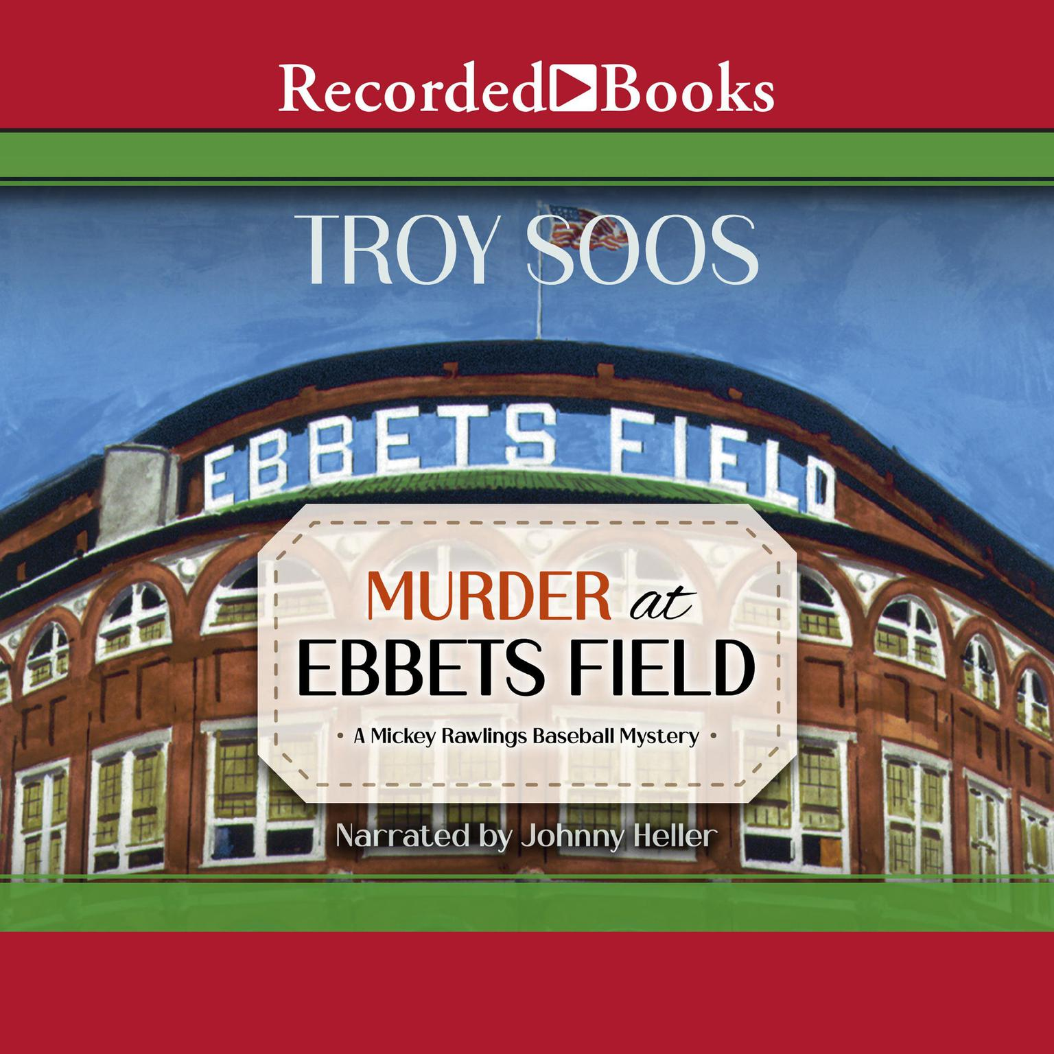 Printable Murder at Ebbets Field Audiobook Cover Art