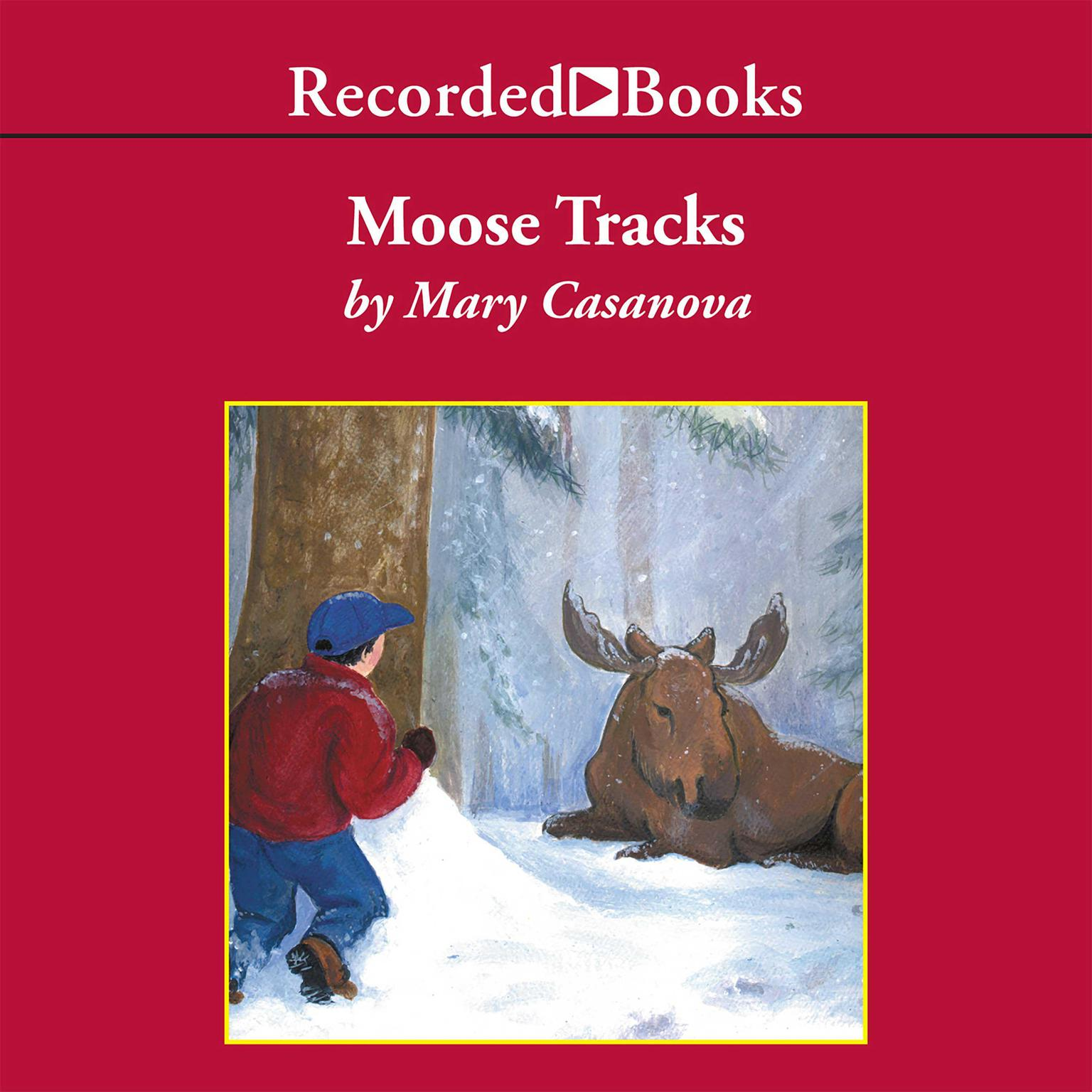 Printable Moose Tracks Audiobook Cover Art