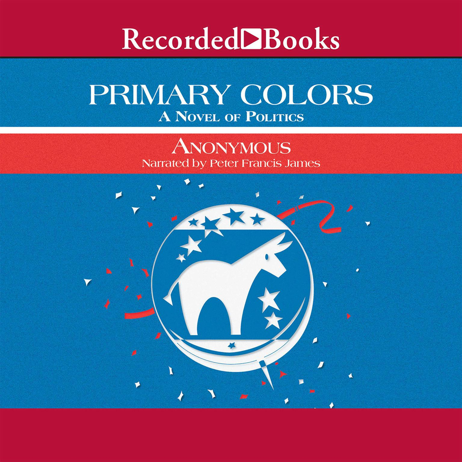 Printable Primary Colors: A Novel of Politics Audiobook Cover Art