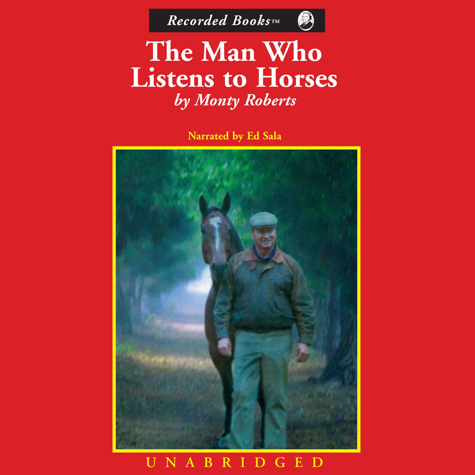 Printable The Man Who Listens to Horses Audiobook Cover Art