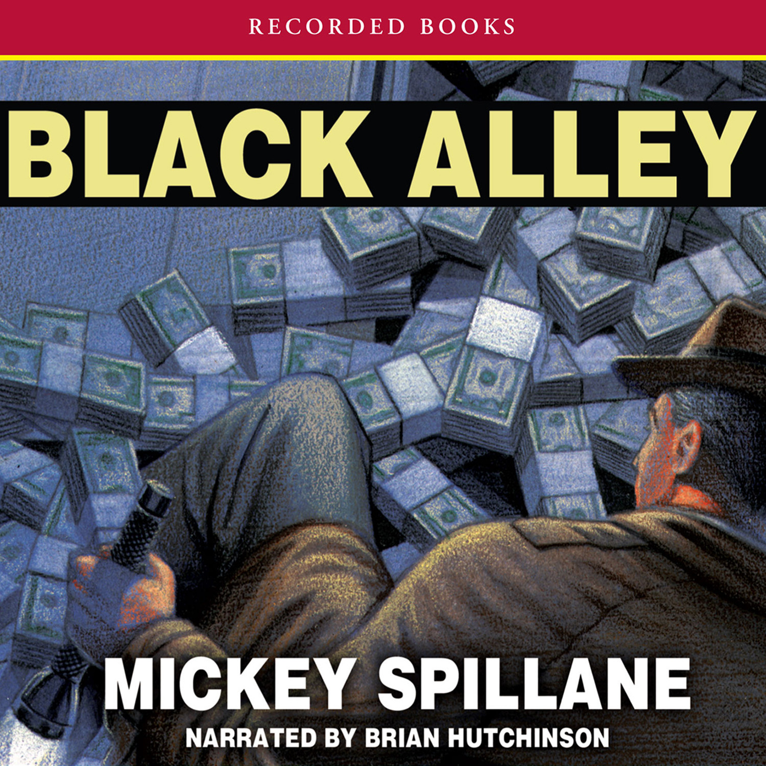 Printable Black Alley Audiobook Cover Art