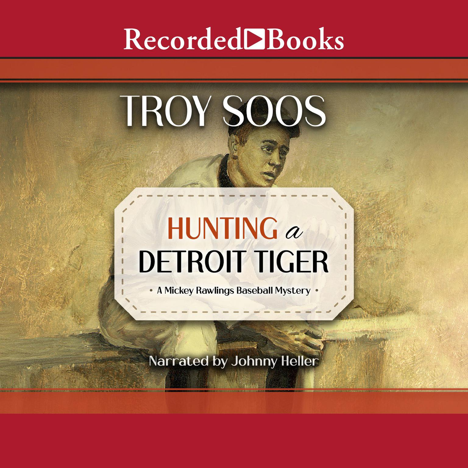 Printable Hunting a Detroit Tiger Audiobook Cover Art