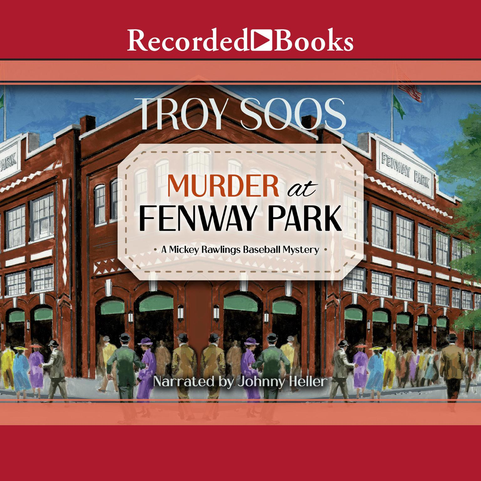 Printable Murder at Fenway Park Audiobook Cover Art